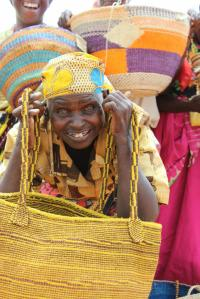 A woman from Kisimenyi Women's Group